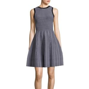 Kamiah Texture Stitch Dress by Alice + Olivia